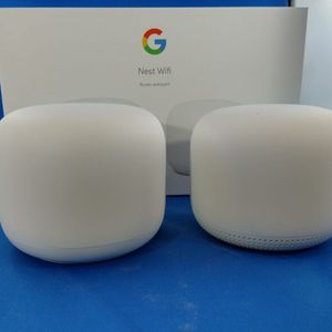Google Nest Wifi with Extra Access Point (Like New) for Sale in Cupertino, CA