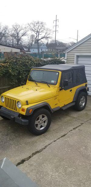 2001 jeep wrangler for Sale in Rockville Centre, NY