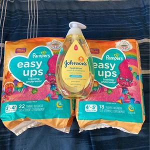 Diapers /easy Ups / Pampers for Sale in Ontario, CA