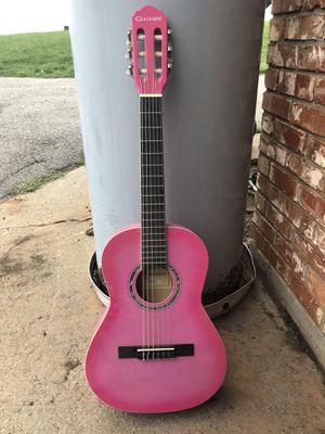 Pink guitar for Sale in Burkburnett, TX