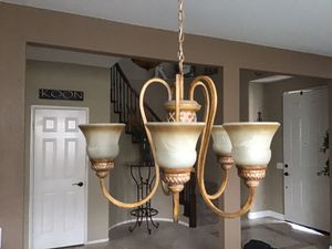 Hanging light fixture for Sale in Highland, CA