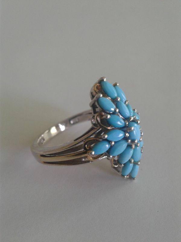 Arizona Sleeping Beauty Turquoise Ring, Size 8