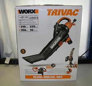 Worx leaf blower/vac for Sale in Chicago, IL