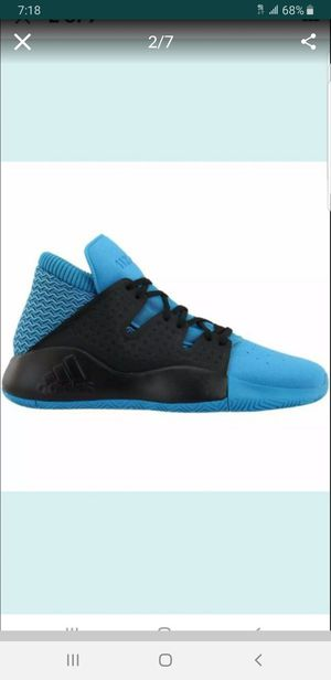 ADIDAS PRO VISION BROOKLYN CASUAL CORE ATHLETIC MEN'S BASKETBALL MID LOW TOP SHOES SIZE 7 BLUE/BLACK BRAND NEW WITH TAGS SERIOUS BUYERS ONLY for Sale in Huntington Park, CA