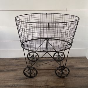 Vintage Farmhouse Rolling Cart for Sale in Issaquah, WA