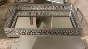 Mirrored Antique Tray w/Handles for Sale in Los Angeles, CA