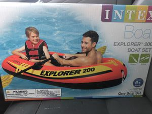 Intex explorer pro 200 NEW inflatable boat for Sale in Tucker, GA