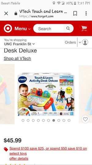 Activity desk for kids for Sale in Chapel Hill, NC