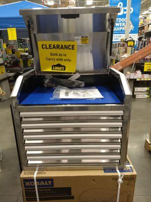 Kobalt stainless steel tool box for Sale in Tucson, AZ
