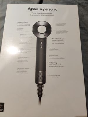 Dyson Supersonic Hair Dryer (New) for Sale in Chino Hills, CA