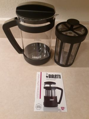 Bialetti Cold Blue Coffee Maker 24oz for Sale in Las Vegas, NV