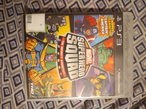 PS3 MARVEL GAME for Sale in Amherst, VA