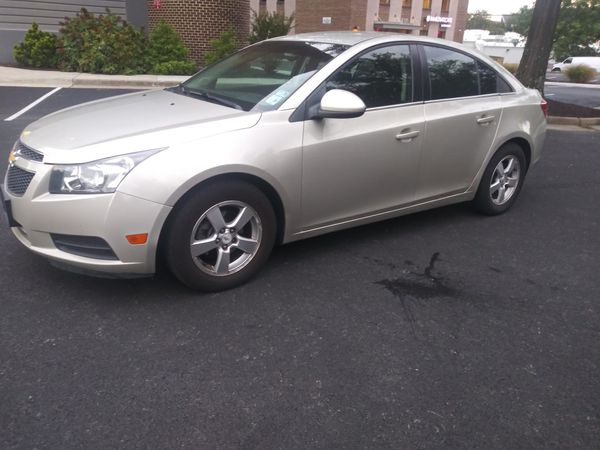 2014 Chevy Cruze LT 1.4 L Turbo Automatic 4 Cylinders 92 K miles