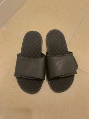 Brand new Miami Heat slides size 6 for Sale in Niceville, FL