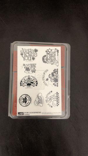 Stampin Up 1992 For Goodness Sake Christian stamp set for Sale in Saint Albans, WV