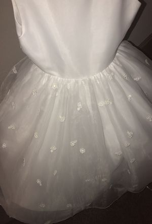 Flower girl dress. Size 7. Wore 1 time for fall wedding. for Sale in Kansas City, MO
