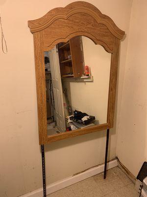 Antique dresser mirror for Sale in Burke, VA