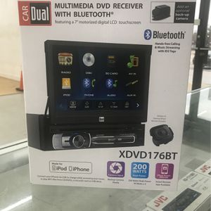 Dual DVD Receiver With Cd Bluetooth And USB Am Fm for Sale in Houston, TX