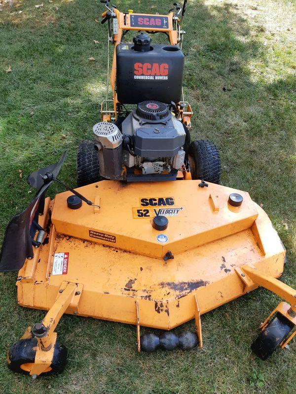 "SCAG 52"" Velocity, Lawn Mower"