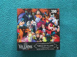 Disney Villains puzzle 3d for Sale in Pico Rivera, CA