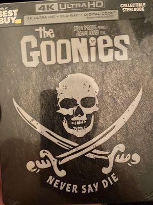 The Goonies 4k Steelbook for Sale in Dallas, TX