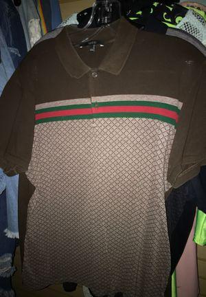 2x Gucci polos $125 for Sale in Cincinnati, OH