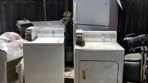 Coin operated washer and dryer and frige for Sale in Tustin, CA