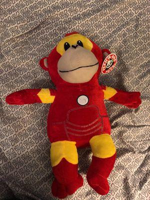 Iron Man Monkey stuffed animal for Sale in North Las Vegas, NV