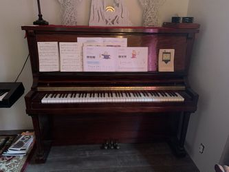 Cherry Wood Stand Up Piano for Sale in Humptulips,  WA