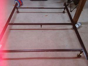 Queen/Full 9 leg rolling bed frame for Sale in Pinckard, AL