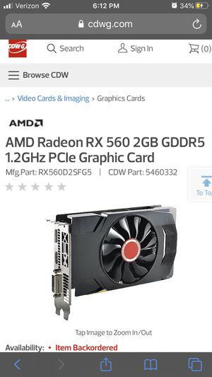 Gpu (graphics card) for Sale in Otsego, MN