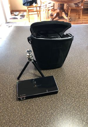 New1 Projector with case for Sale in Plainfield, IL