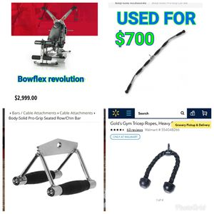 Bowflex revolution used but in Good shape with Extra equipment! for Sale in Queens, NY
