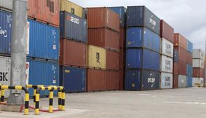 Used Containers- 20' SD WWT Cargo Portable Boxes for Sale in Victoria, TX