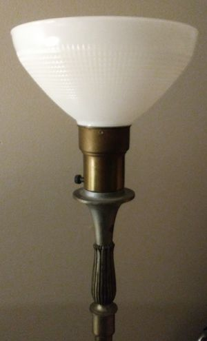 Antique Solid Brass Floor Lamp for Sale in Seattle, WA
