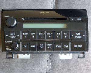 07-13 Toyota Tundra OEM radio for Sale in Orange, CA