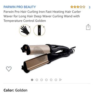Parwin Pro Curling Iron for Sale in San Gabriel, CA