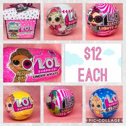 LOL Surprise Dolls New sealed Balls $12 Each for Sale in Hayward,  CA