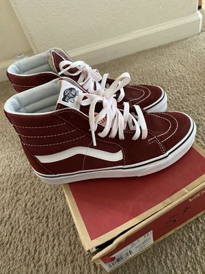 burgundy vans for Sale in Elk Grove, CA