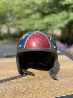 1968 Metal Flake motorcycle helmet (vintage) for Sale in Galloway, OH
