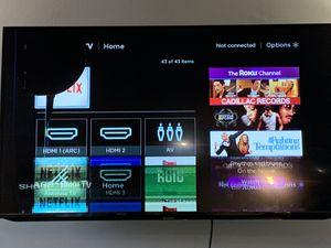 "Sharp 50"" Smart - HDTV Roku TV, broken screen for Sale in Austin, TX"