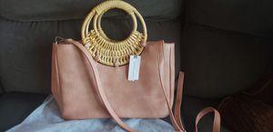 Anthropologie pink clutch/handbag for Sale in Hillsboro, OR