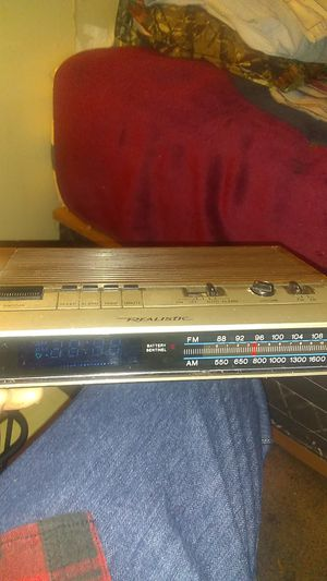 Realistic clock radio for Sale in Tulsa, OK