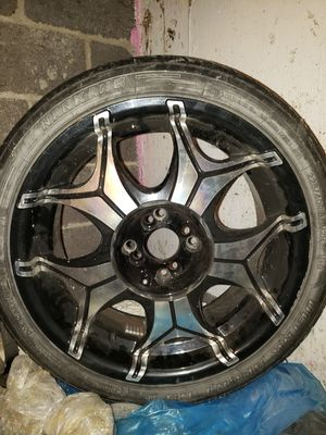"""Four 18"""" Rims with tires for Sale in Bristol, CT"""