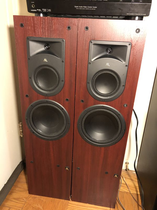 Acoustic Research Speakers with receiver