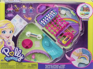 Polly Pocket Rainbow Dream Purse Fanny Pack Playset for Sale in Aurora, CO