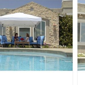 Everbilt 10 ft. x 10 ft. White Commercial Instant Canopy-Pop Up Tent for Sale in Santa Paula, CA