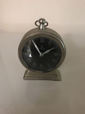 Silver alarm clock for Sale in Westerville, OH