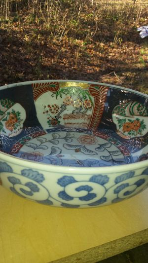Elegant Imari Japan Decorative Bowl for Sale in Fairfax, VA