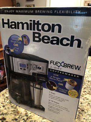 Coffee Maker- Hamilton Beach FlexBrew for Sale in Nashville, TN